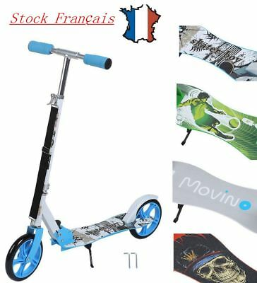 Scooter Roller repliable Trotinette freestyle ADULTE 205 mm Wheel Campus 3 Cor
