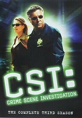CSI: The Third Season [New DVD] Boxed Set, Repackaged, Two Sided, Widescreen,