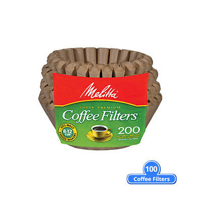 Melitta 62957 Basket Coffee Filter 200 Counts (Single Pack) Basket Coffee