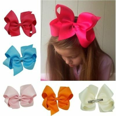 New Kids Girl Big Ribbon Hair Clip Hair Bow Hairpin Baby Hair Accessories