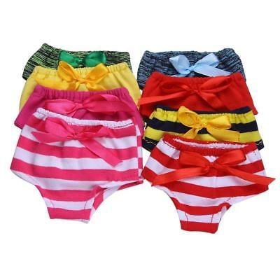 Striped bow Doll Cloth Clothes Underwear Panties for 18inch Girls-Dolls_Toys