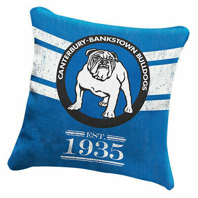 Canterbury Bankstown Bulldogs NRL Heritage Pillow Cushion!