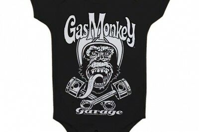 GAS MONKEY GARAGE - Baby Body Biker (6 Month)