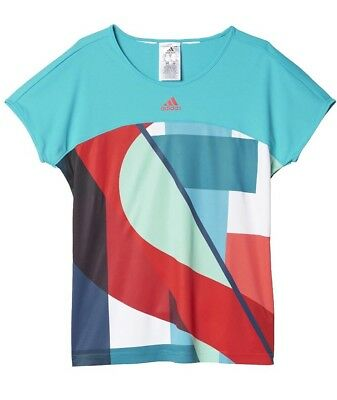 Adidas Girls Kids T-Shirt Top AGE 5-6 ONLY