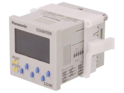 LC4H-S-R6-24VS Counter electronical 2x LCD pulses 999999 SPDT  PANASONIC EW