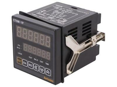 CT6M-1P4T Counter electronical 2x LED time/pulses SPDT Cutout68x68mm  AUTONICS