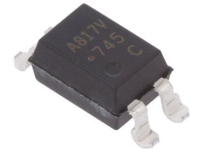 4x HCPL-817-36CE Optocoupler SMD Channels1 Out transistor Uinsul5kV