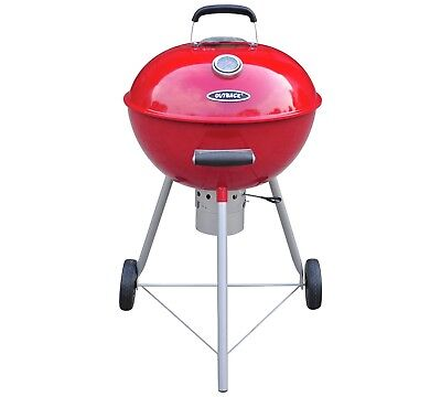 Outback Comet Kettle BBQ barbecue Red Charcoal OUT370579