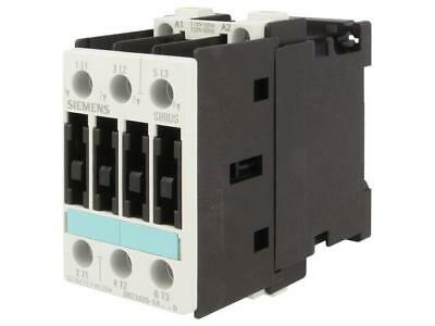 3RT1025-1AK60 Contactor 3-pole 110VAC 12A NO x3 DIN, on panel Series