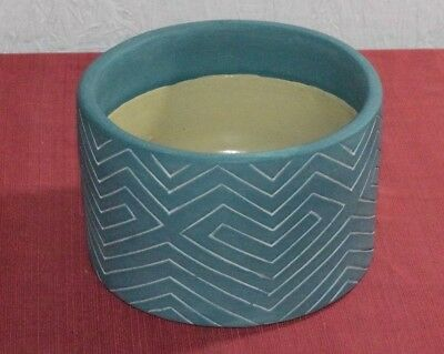 Project 62- Earthenware Planter 7in - Blue