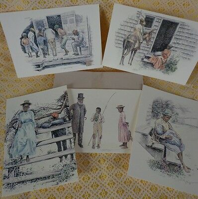 J. Campbell Phillips Heritage Sketches Note Cards Gallery Graphics~FREE SHIPPING