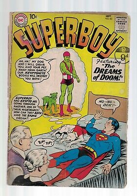 DC Comics Superboy no 83 Sept 1960 10c USA