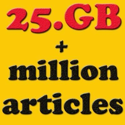 50,000 Ebooks+ 25GB Package niches Plr for website wordpress resell files!