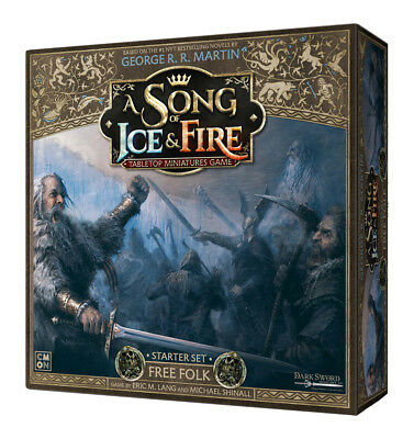 A Song of Ice & Fire Miniatures Game: PRESALE Free Folk starter set New