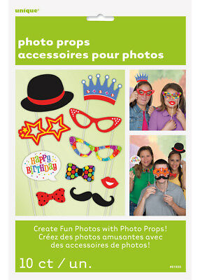 Cumpleaños fiesta Funny Photo Booth Props