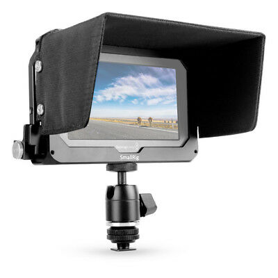 SmallRig 5'' Monitor Cage with Sunhood / HDMI Clamp for Blackmagic Video Assist