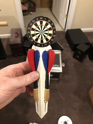 Dartboard & Darts Tap Handle - Draft Beer Kegerator Sports Bar Faucet Lever Knob