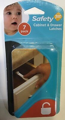 SAFETY 1ST Wide Grip Latches 7 Pack #48444 New Sealed