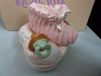 Boxed Just the Right Style Raine's Pink Lullaby Trinket Box -Lovely Collectible