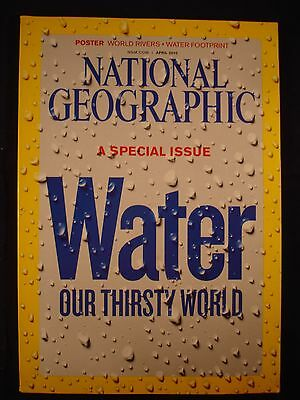 National Geographic - April 2010 - Water , a special issue