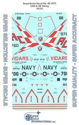 Superscale Decal 48-950 USN S-3B Viking