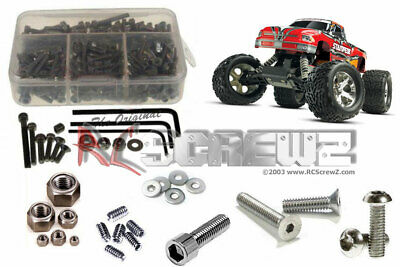 RC Screwz TRA021 Traxxas Stampede XL5 Stainless Steel Screw Kit