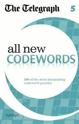 The Telegraph: All New Codewords 5 (The Telegraph) NEW Paperback Book