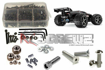 RC Screwz TRA034 Traxxas E-Revo 1/10th Stainless Steel Screw Kit