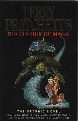 Terry Pratchett's The Colour of Magic Graphic Novel From 1993