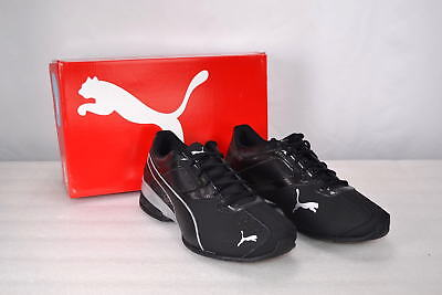 0e5ca0b86b0 PUMA TAZON 6 FM 18987303 Black Synthetic Leather Running Shoes (D