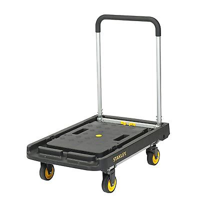 Stanley 200kg Platform Truck Transport Wagon Commercial Trolley Dolly Skates