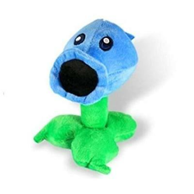 Plants Vs Zombies Plush Toy - Ice Peashooter 17cmTall Multicoloured,