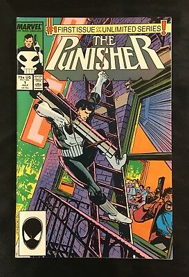 The Punisher #1! 1987! Vf! Copper Age Marvel! No Reserve! Combined Shipping!