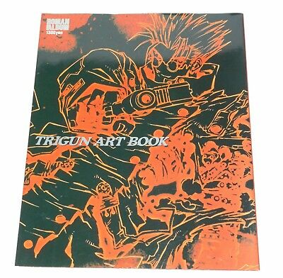 TRIGUN Vash the Stampede Anime Manga ART BOOK ROMAN ALBUM Editon Sketch Art