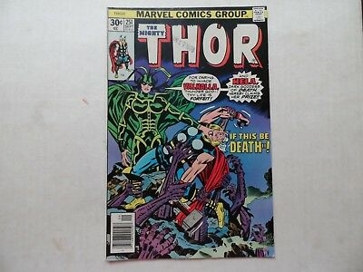 Marvel The Mighty Thor #251  September  1976 Kirby Cover