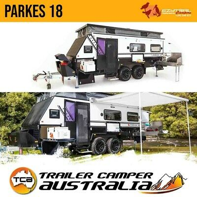 Ezytrail Parkes 18 Off Road Caravan 18FT Hybrid Pop Top Trailer