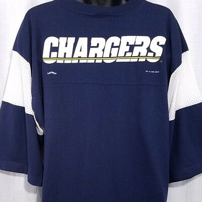 fe11e0d7d San Diego Chargers Mens Jersey Shirt Vintage 90s Lee Sport Made In USA Size  XL