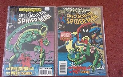 Spectacular Spider-Man # 215 & #216 -The Monster Within !