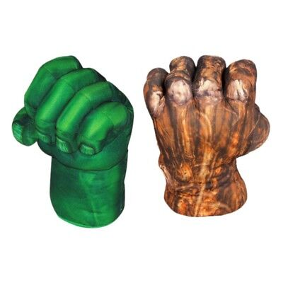 Hot Incredible Hulk Big Hands Plush Gloves Performing Props For Kids Boy Gift