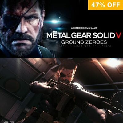 METAL GEAR SOLID V: GROUND ZEROES - PC WINDOWS - Steam