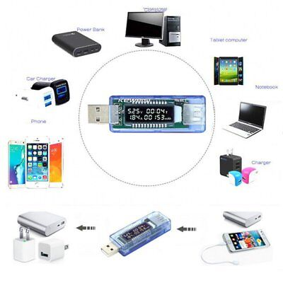 Mini Battery Capacity Tester USB Charger Voltage Meter Phone Power Tester Safety