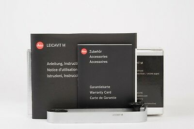 Leica Leicavit M - Silver - 14008 with full packing for M6 M7 MP (~99% new)