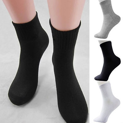 5 Pairs Men's Brand Socks Winter Thermal Soft Cotton Sports Sock Warm Casual
