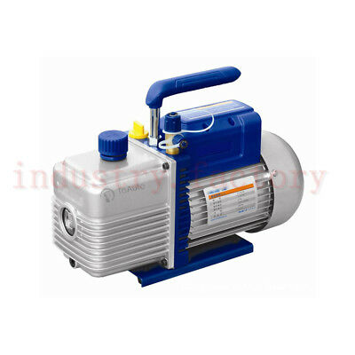 Rotary Vane Single Stage Vacuum Pump 1/2HP 6.36CFM 370W 3L/s Air Conditioning