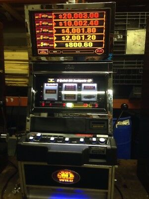 Bally Alpha Black Gold Wild Quick Hit  SLOT MACHINE With Free Play Kit