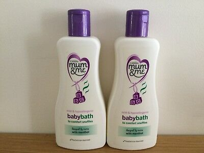 Cussons Mum & Me Baby Bath To Comfort Snuffles 2 x 300ml