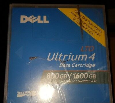 Dell LTO4 Data Tape 800GB Native 1600GB Compressed LTO Ultrium 4  - 6 pack