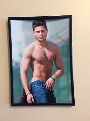 ZAC EFRON POSTER WALL ART PRINT A3 260GSM