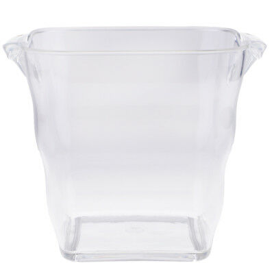 Clear Thick Acrylic Plastic Ice Bucket Wine Champagne Bowl Container Holder