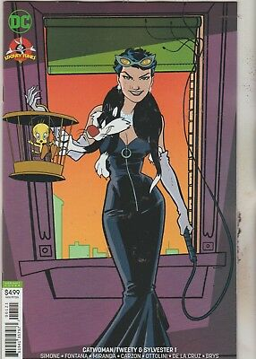 Dc Comics Catwoman Tweety & Sylvester #1 October 2018 Variant 1St Print Nm